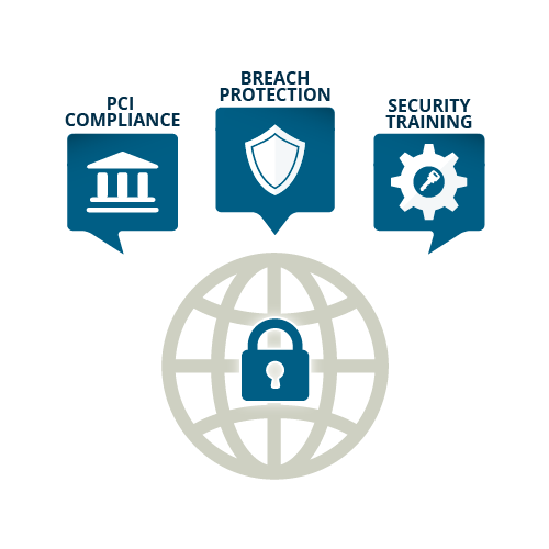 Icon showing data security